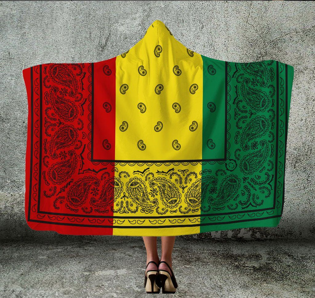 Jamaican Wedding Hairstyles: Ultimate Rasta Bandana Hooded Blanket In 2020
