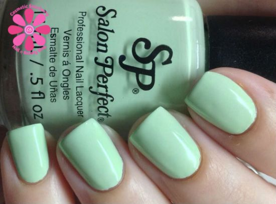 Salon Perfect In Bloom Duo Mint Julep & Bellini Swatches & Review | Cosmetic Sanctuary
