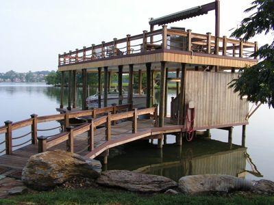 knoxville decks boat dock contractor custom deck docks