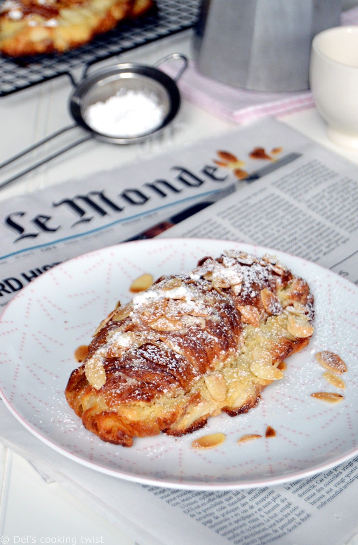 Almond Croissant Almond Croissant Almond Pastry Puff Pastry Recipes