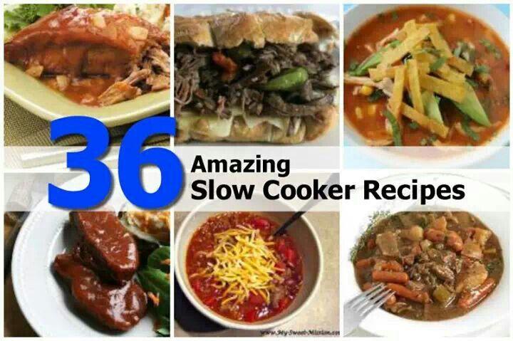 pinwanda skelton on crock pot‼♥️  slow cooker recipes
