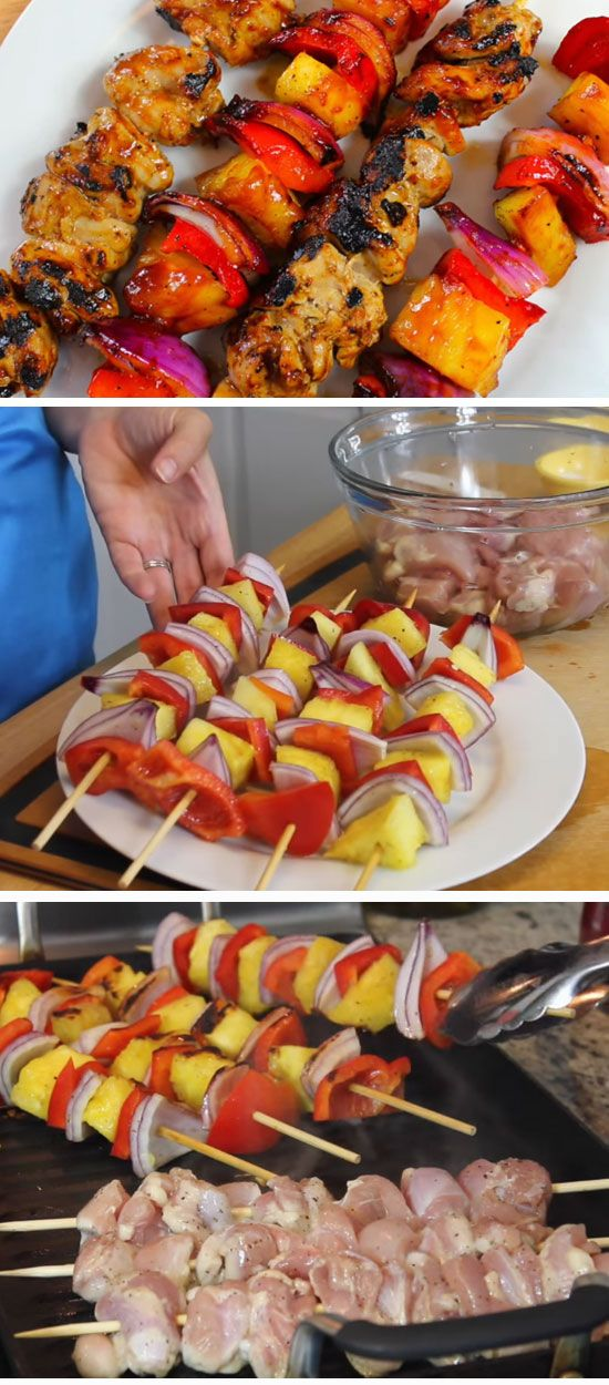 Barbecue En And Pinele Skewers Easy Outdoor Party Food Ideas For A Crowd Quick Bbq Kids Summer Parties
