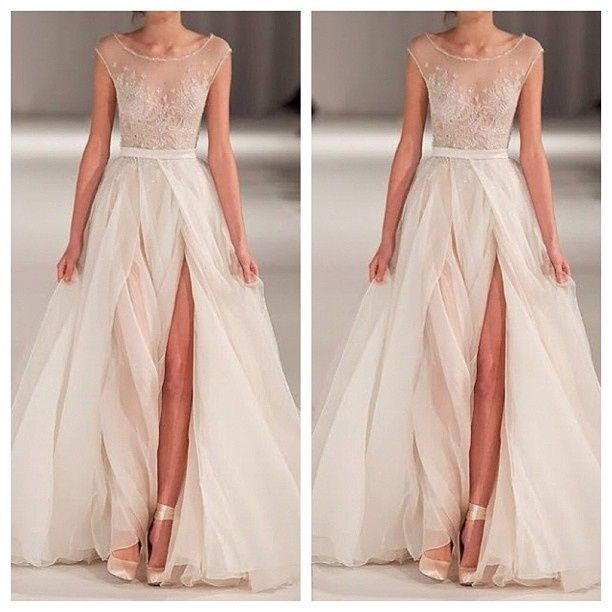 Non traditional color wedding dresses