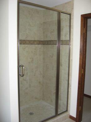 Shower Doors With In Line Panel Minneapolis Custom Shower Enclosures Mn Custom Glass Replacem Shower Enclosure Frameless Shower Frameless Shower Enclosures
