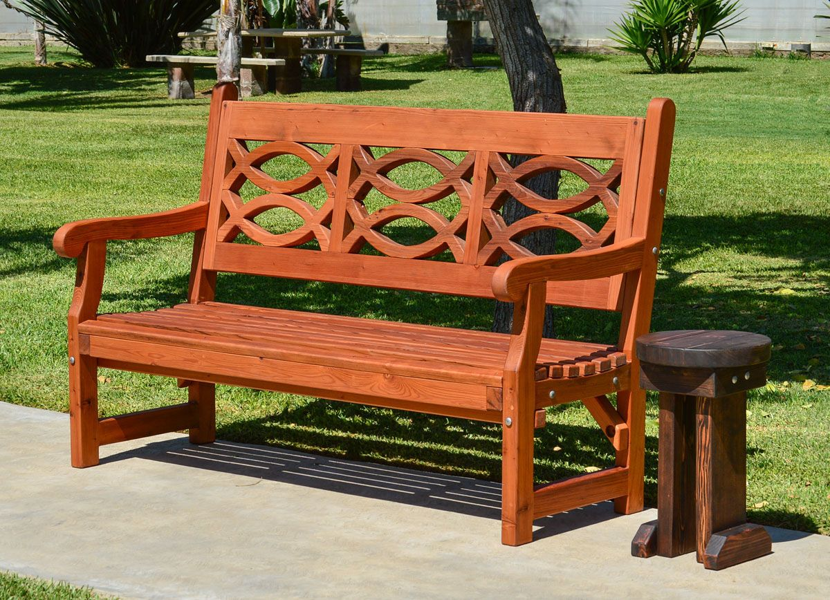 Patterns For Wooden Benches Beautiful Garden Bench For