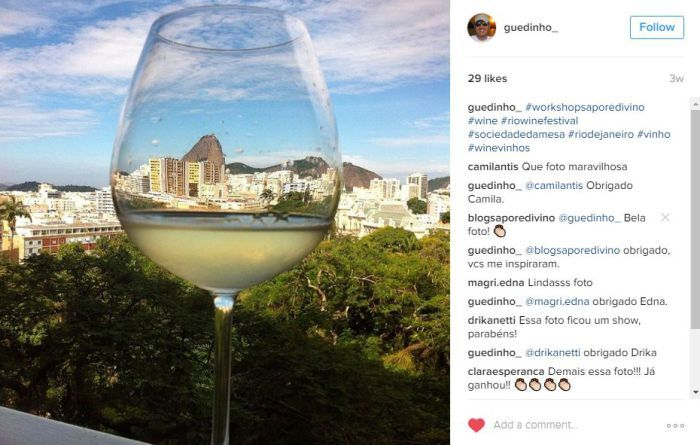 Desafio Instagram | SaporeDiVino