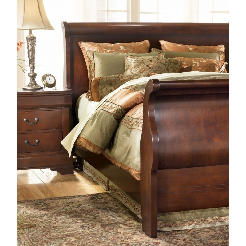 Ashley Home Furniture Ad: Claremont Sleigh Bed B477-S-BED, Ashley