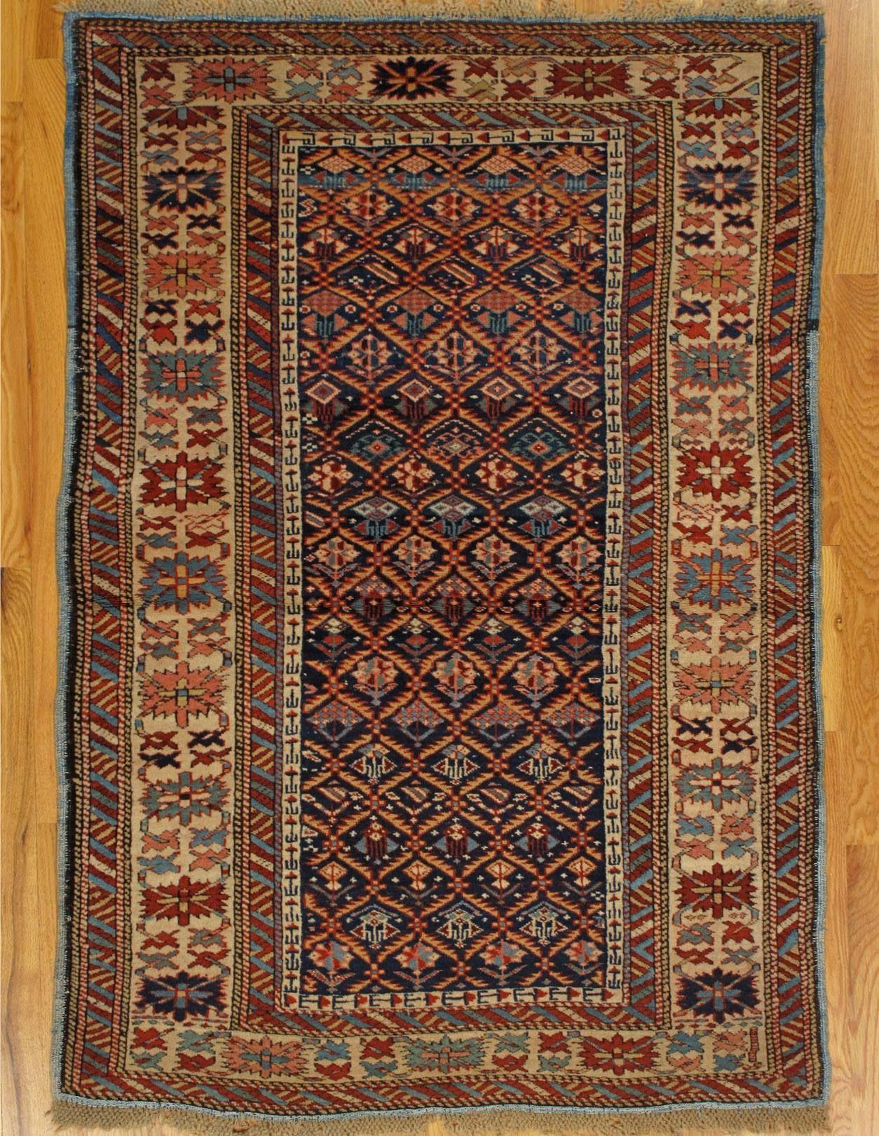 Hagop Manoyan Antique Rugs Kuba Rug Eastern Caucasus West Coast Of The Caspian Sea Circa 1880 Size 4 10 X3 4 147x102 Carpet Sale Vintage Style Rugs Rugs