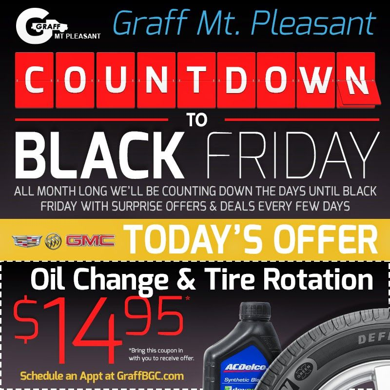 Lovely Black Friday Daily Deals At Graff Chevrolet, Buick, GMC, Cadillac In Mt.  Pleasant