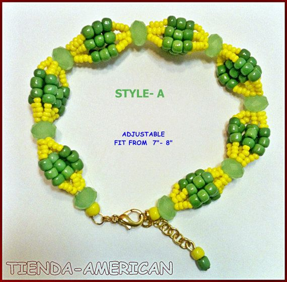 Santeria Yoruba Beaded Bracelet Idde For Orunmila Orula Orisha