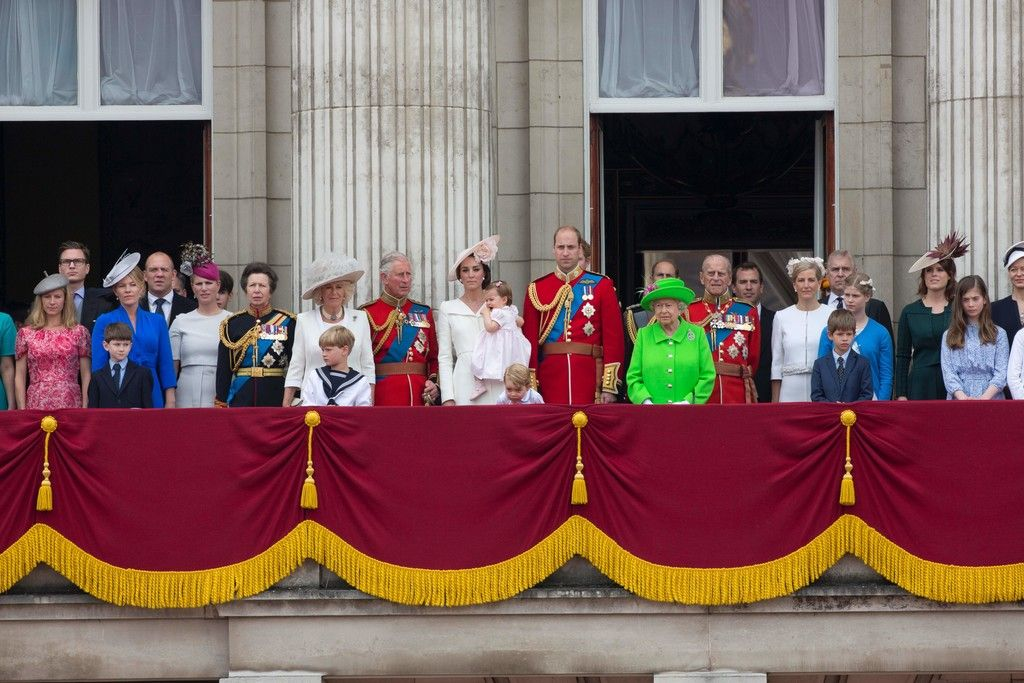 TROOPING THE COLOUR 2016 - PRINCESS MONARCHY