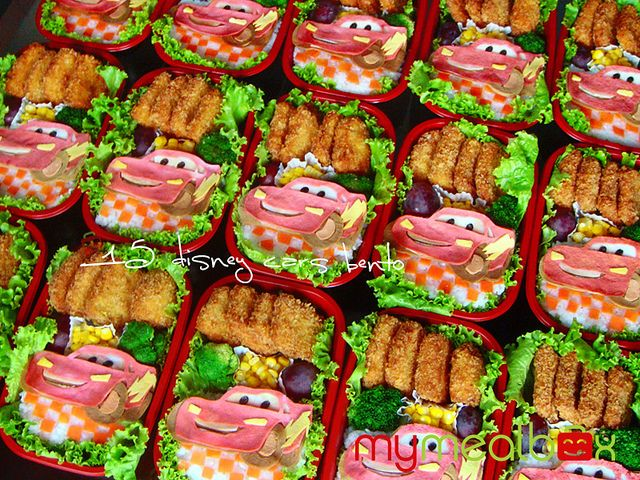 Disney Cars Bento Boxes Car Birthday Theme Cars Birthday
