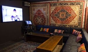 Private Karaoke Rooms Are Equipped With Comfortable Leather Couches