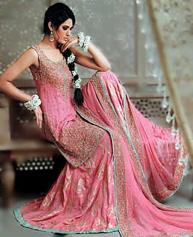 20f9771a69 D3374 Pink Pakistani Bridal, Pink Pakistani Lehenga, Pink Asian Bridal  Dress, Latest Pakistani Pink Bridal Bridal Wear