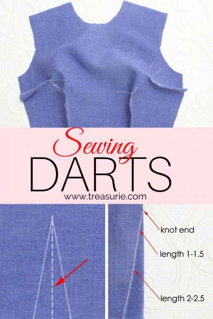 Sewing Darts - How to Sew Darts Easily | TREASURIE