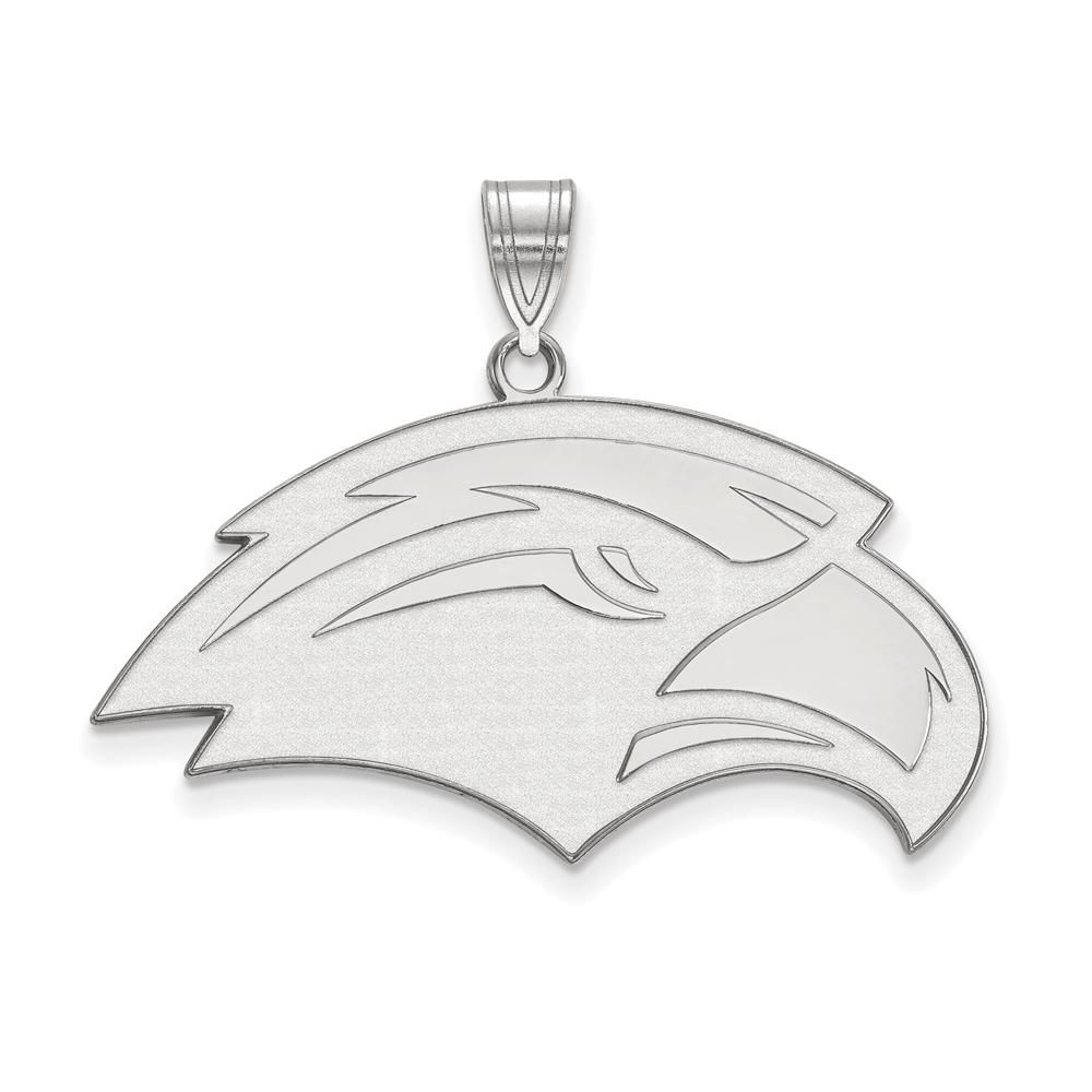 Gold-Plated Sterling Silver University of Southern Miss Medium LogoArt Pendant
