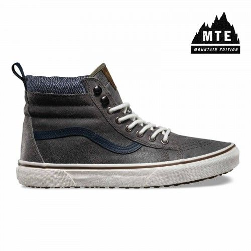 7660077e97 Vans Sk8-Hi MTE Shoes (MTE) charcoal herringbone - Vans Netherlands  Official Online Store