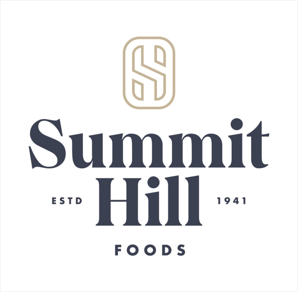 Southeastern Mills Rebrands To Summit Hill Foods Logo Designer Logo Design Logo Food Brand Manifesto