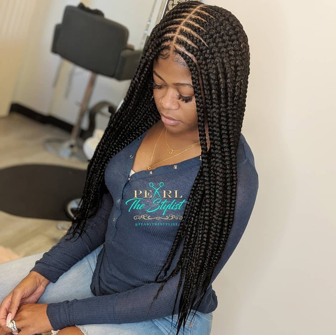 Braid Artist🔮 On Instagram Large 2 Layer Waist Length