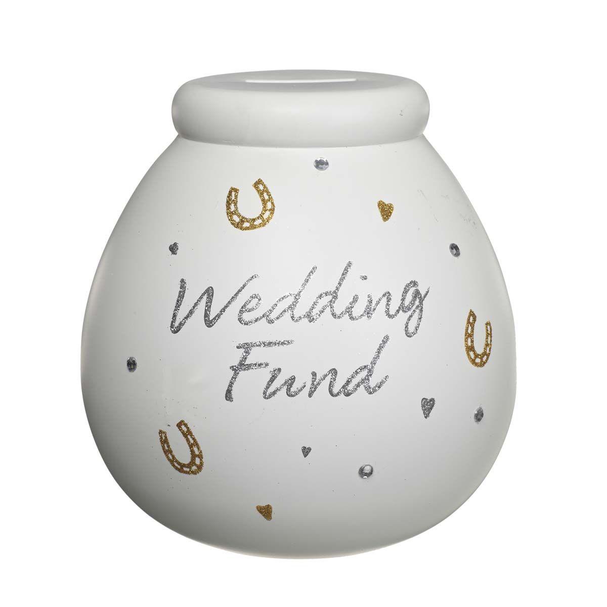 Honeymoon Fund Pots of Dreams Money Pot Save Up /& Smash Money Box Gift