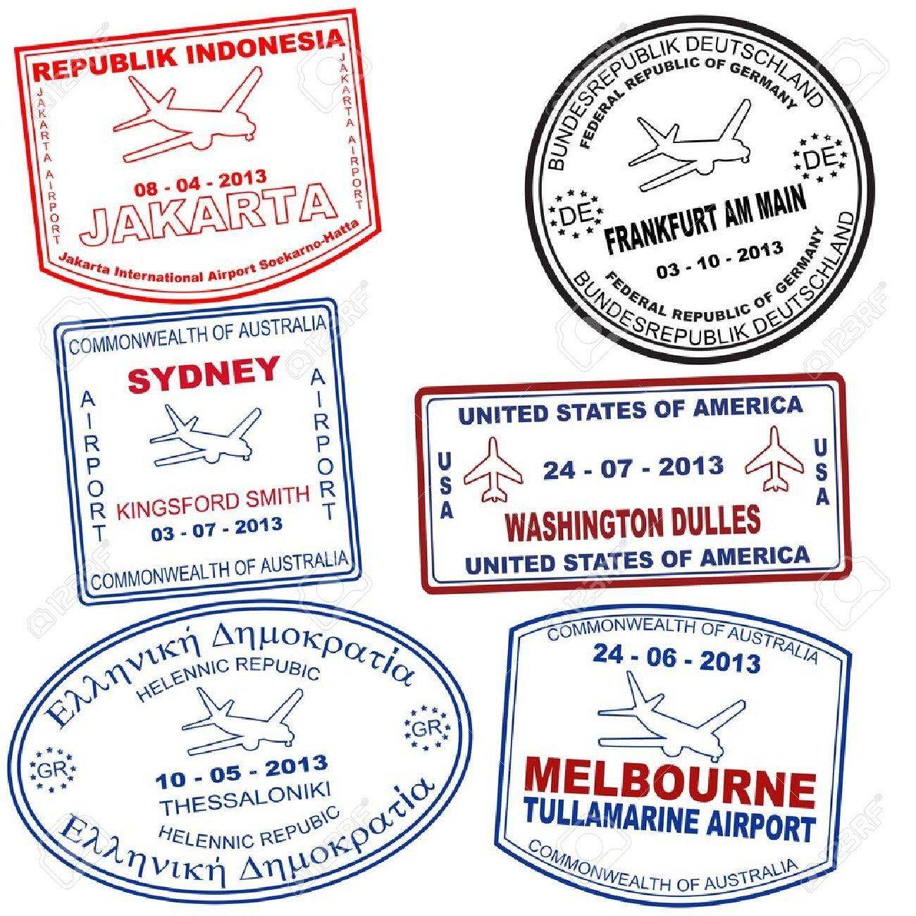 Image Result For Frankfurt Passport Stamp With Images Passport