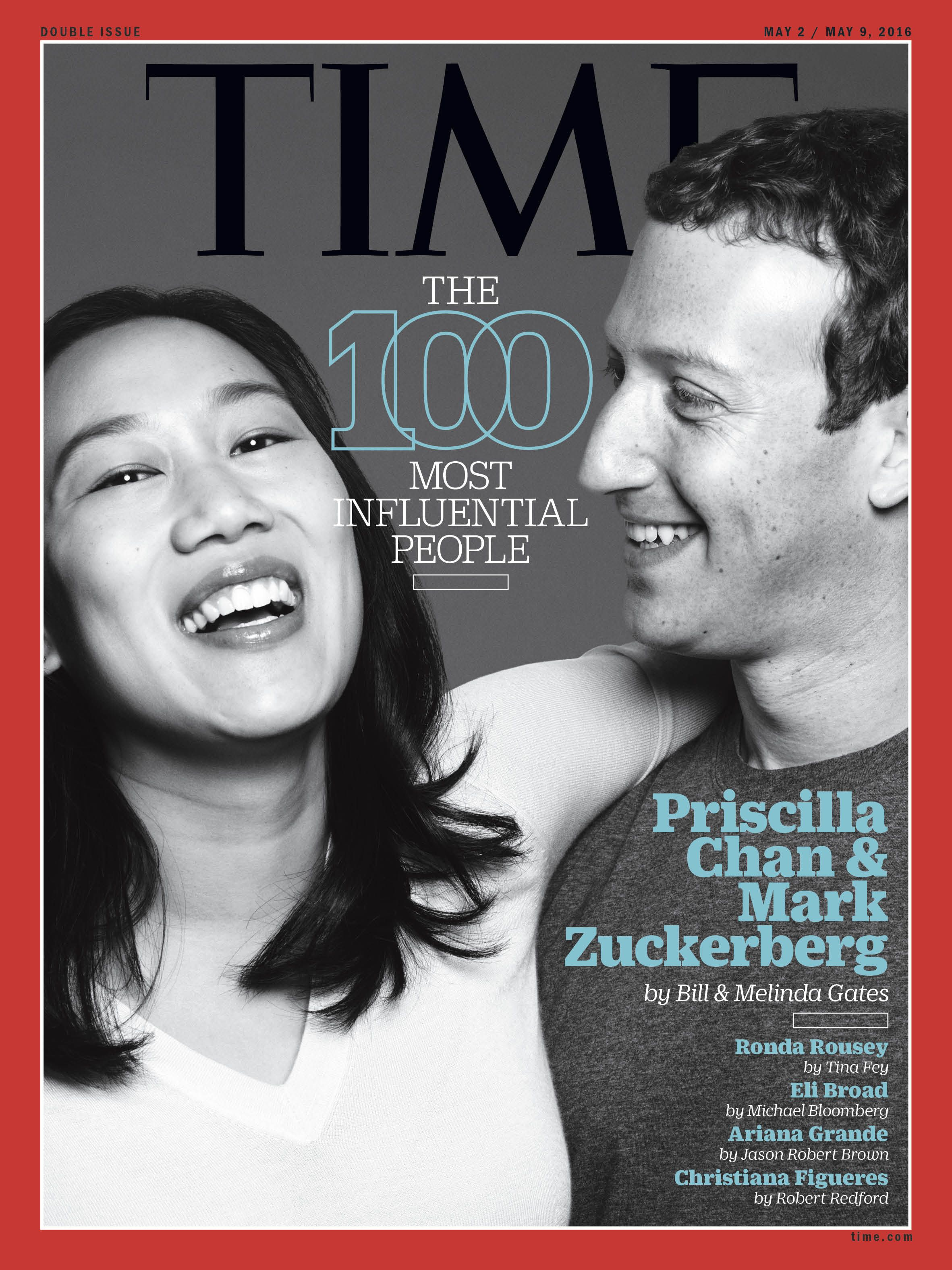 Priscilla Chan and Mark Zuckerberg | TIME Covers | Time