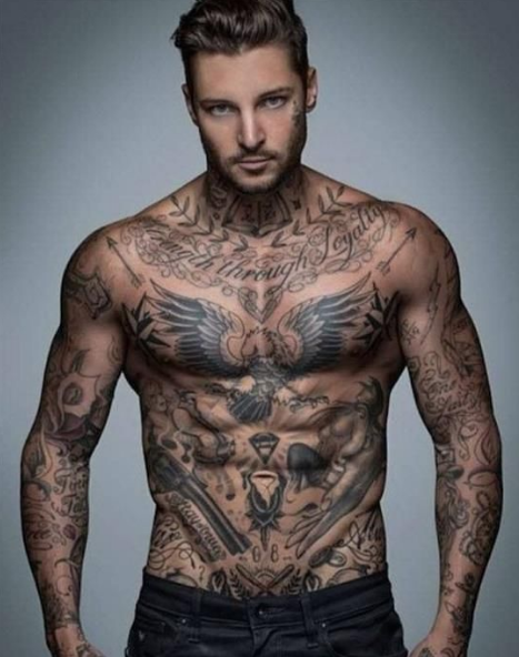 Stomach Tattoos For Men Mens Stomach Tattoo Tattoos Stomach Tattoos