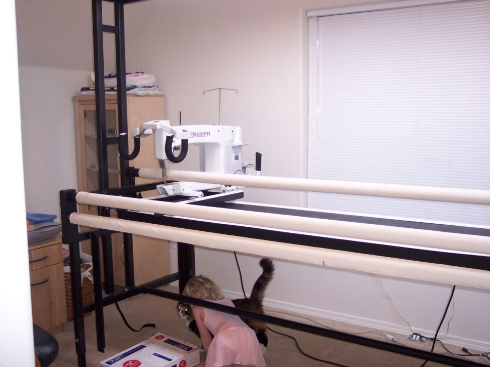 Loading a Quilt onto Gammill-Style Frame Excellant instructions and ...