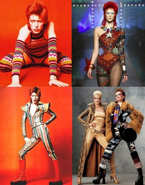 The Evolution Of Glam Rock Fashion | David bowie, Bowie ...