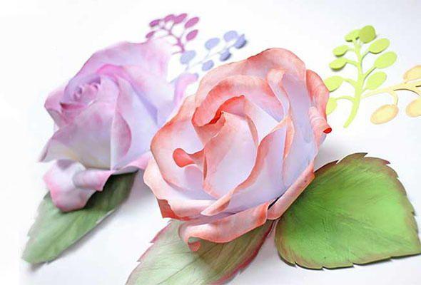 Diy large rose from printer paper diy paper roses printer paper diy large rose from printer paper mightylinksfo