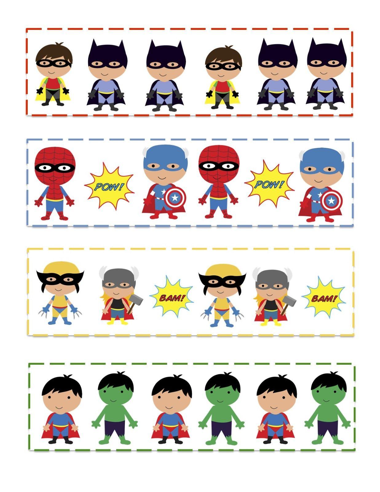 Super Hero Activities Superhero Preschool Superhero Theme [ 1600 x 1236 Pixel ]