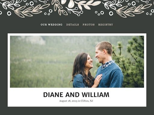 The Knot Wedding Websites Free Easy To Use Wedding Website Wedding Website Free The Knot Wedding Website