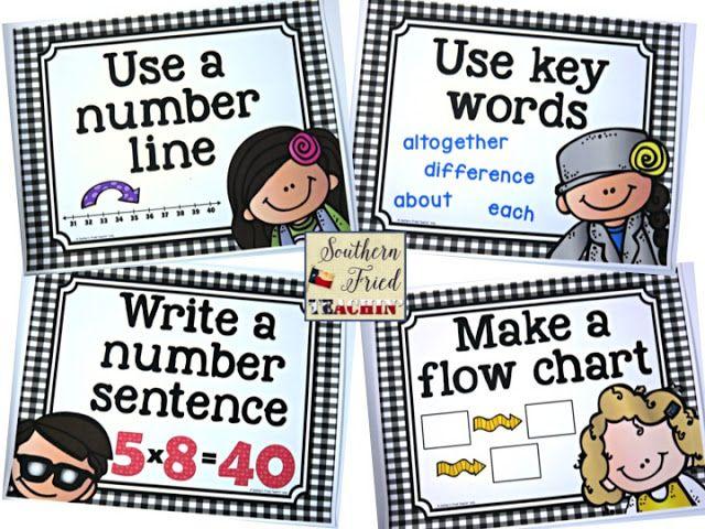 middle school math problem solving strategies