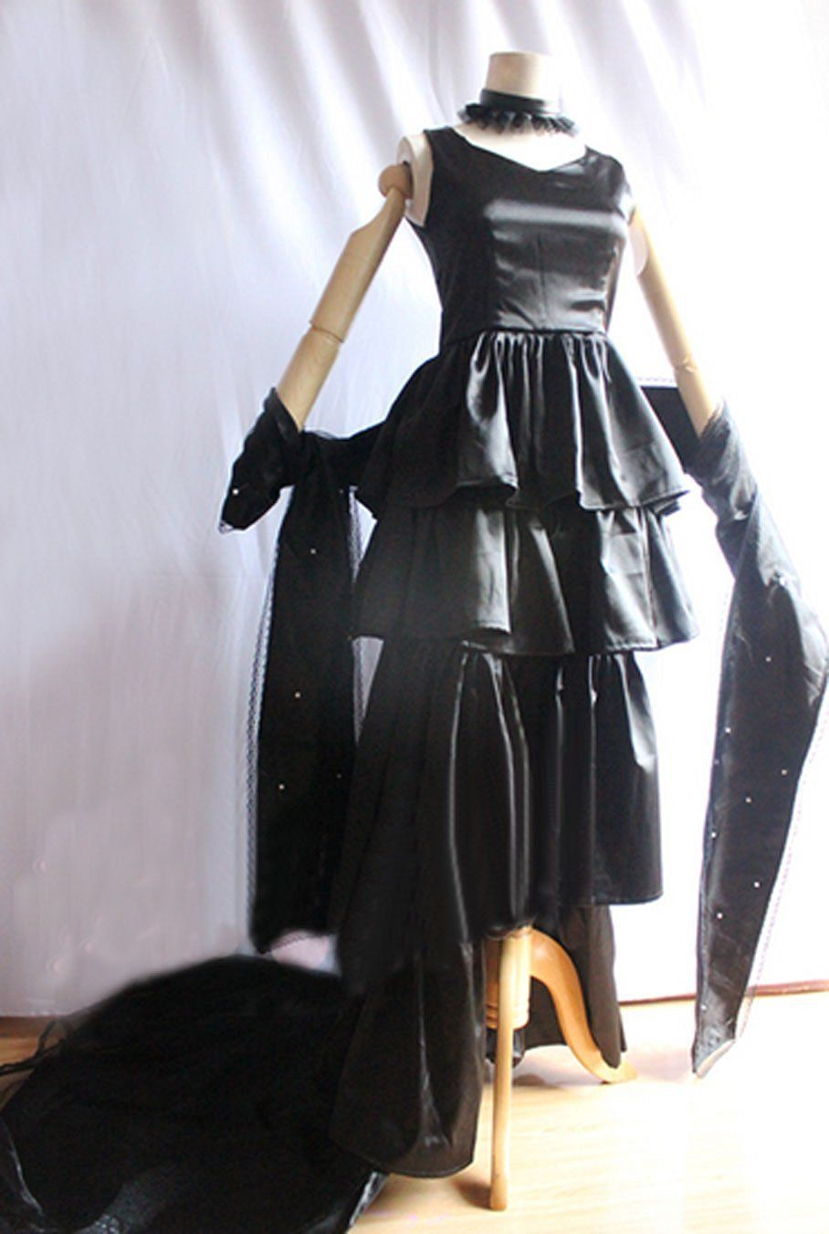 Cosenter anime tokyo ghoul sendasly black dress outfits cosplay