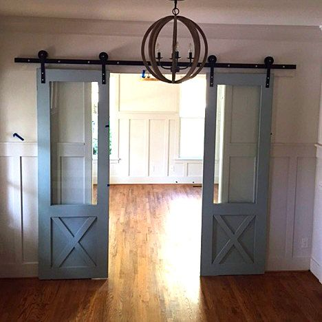 Sliding Barn Doors With Hardware By Crowrivercreations On