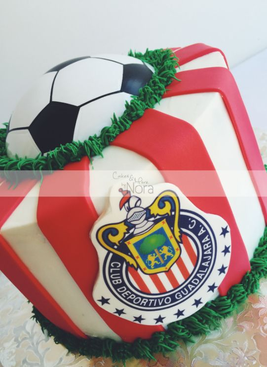 CHIVAS cake | Cakes and More by Nora | Sports Cakes ...