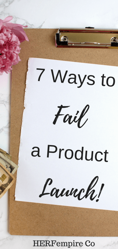Product Launch: Here Are 7 Ways to Fail a Product Launch | Top Blogs ...
