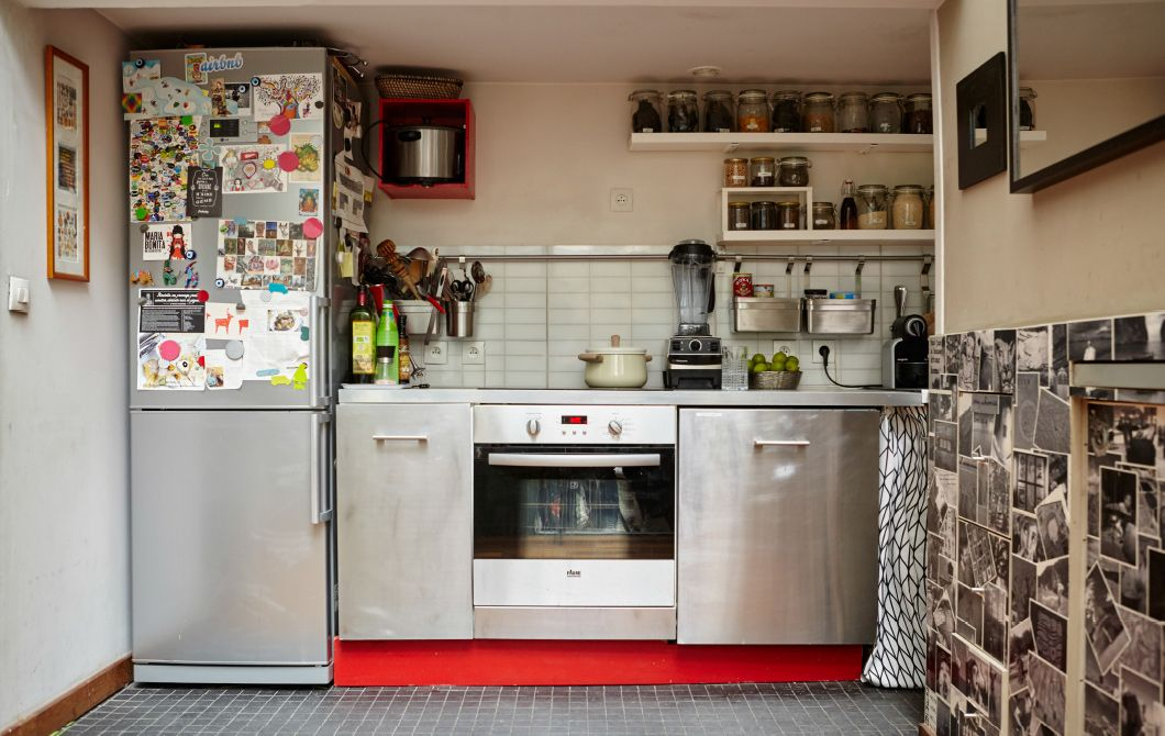 Kleine Küchen optimal nutzen kitchen Pinterest Cocina pequeña - Kleine Küche Optimal Nutzen