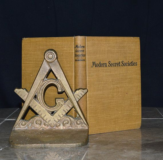 Modern Secret Societies - Antique 113 Year Old Book - Freemasonry