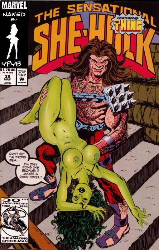 comics porn hulk Marvel she