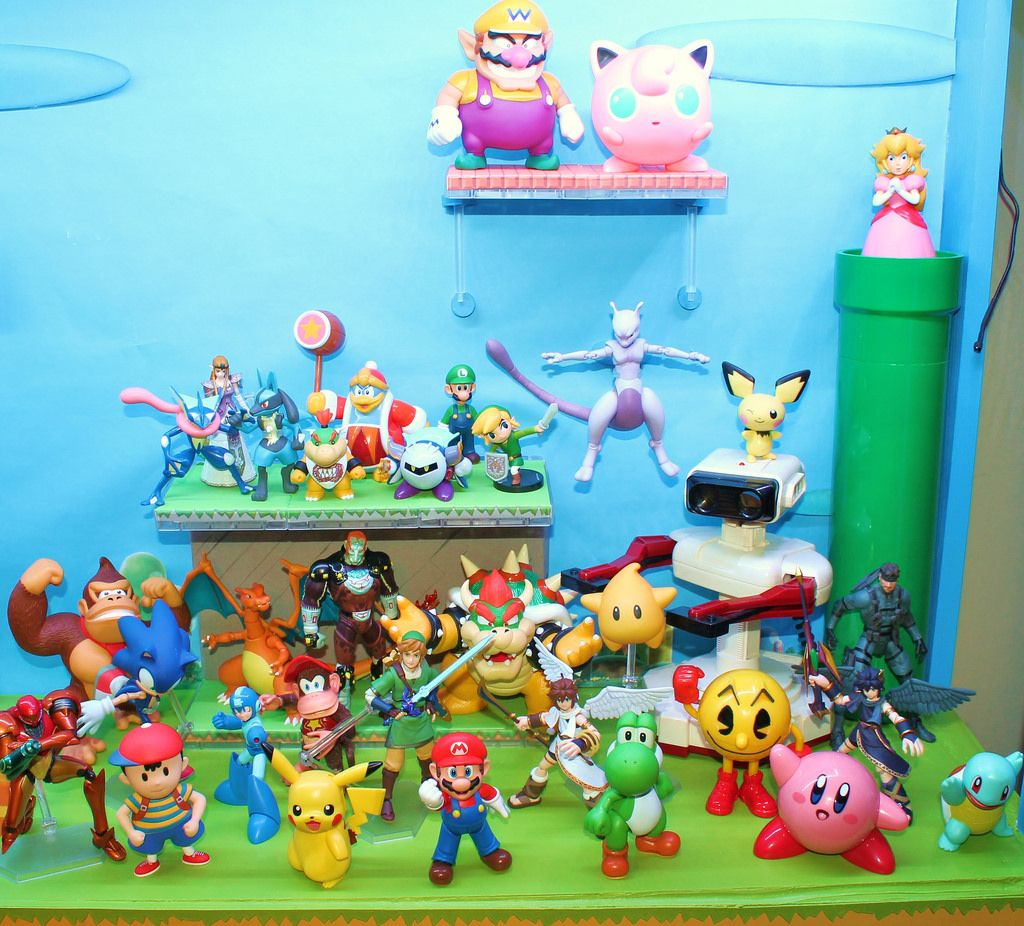 world of nintendo figures - Google Search | Nintendo ...