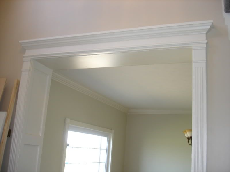 What do you think of the fluted trim crown molding for Interior window crossheads