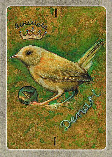Secret Language Of Birds Tarot Italian: Scricciolo- Means