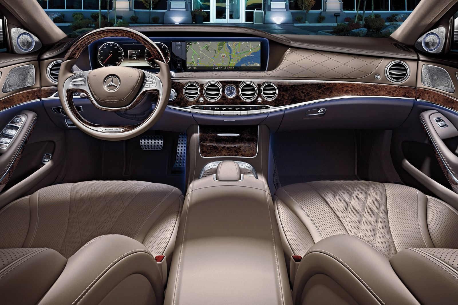 2015 s550 mercedes benz sedan interior