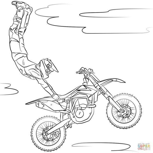 30 Great Image Of Motorcycle Coloring Pages Albanysinsanity Com Free Coloring Pages Cars Coloring Pages Freestyle Motocross
