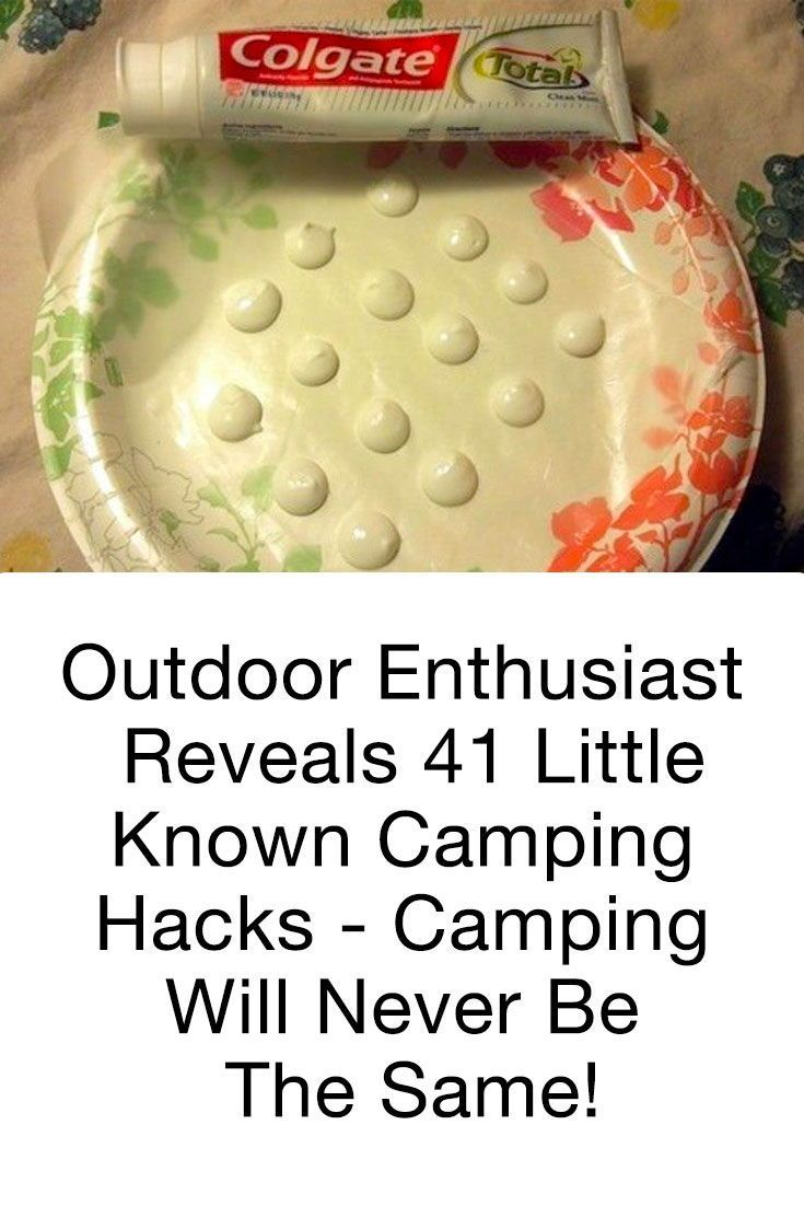 Photo of Outdoor Enthusiast Reveals 41 Little-Known Camping Hacks – Camping Will Never Be The Same!