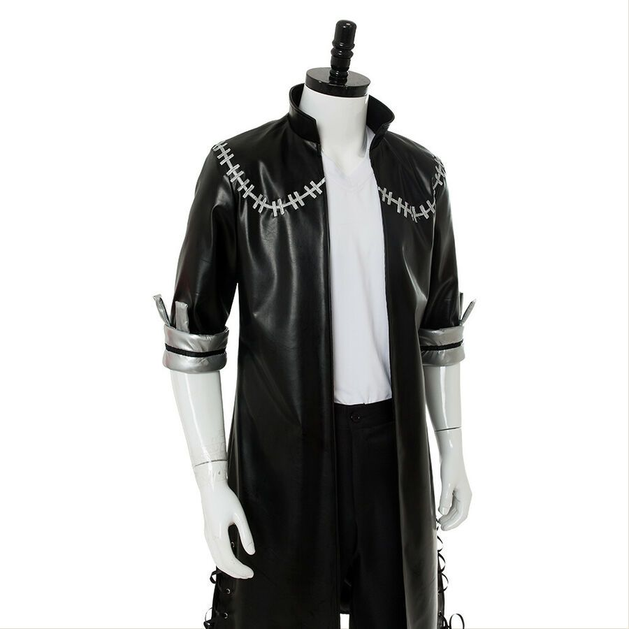My Boku no Hero Academia Dabi Jacket Cosplay Costume Halloween Black Men Suit