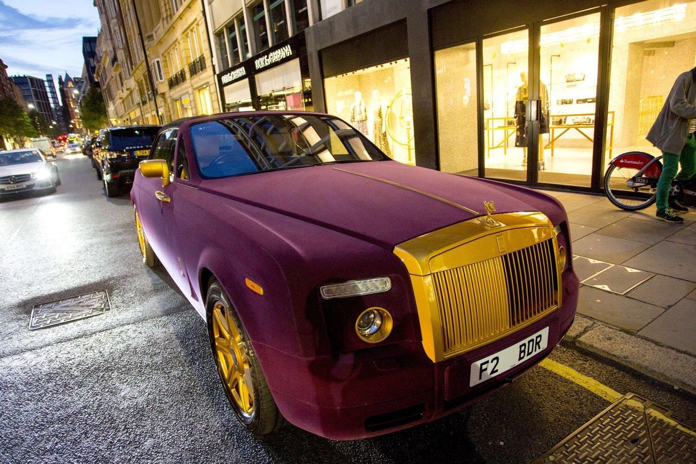 23++ Rolls royce phantom purple Download