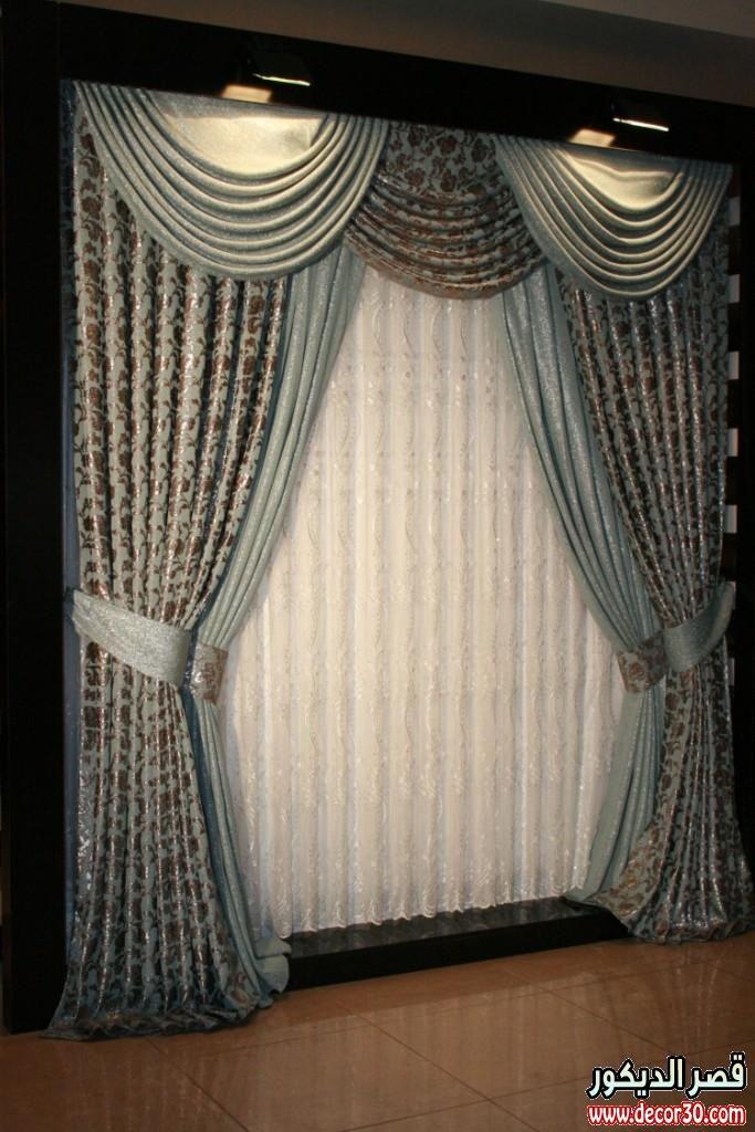 ستائر مودرن بموديلات رقيقة Drapes Curtains Drapery Designs Living Room Decor Curtains