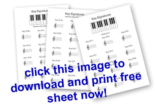 Flash Key Signatures Music Game - pedaplus.com